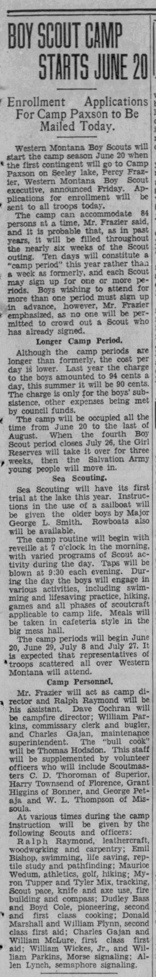 1932-04-02 Camp Paxson Scout activities - Newspapers com
