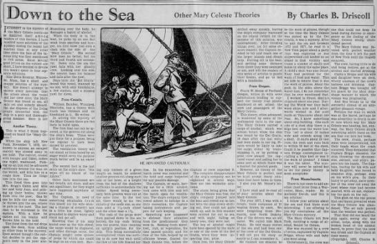 Mary Celeste Theories - .Down to the Other Mary Celeste Theories By...