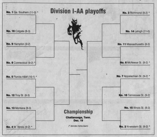Division I-AA playoffs -