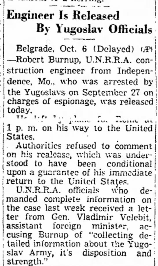 Robert Burnup -