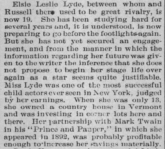 Elise Leslie Lyde -