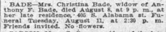 The Indianapolis News, 10 August 1908 -