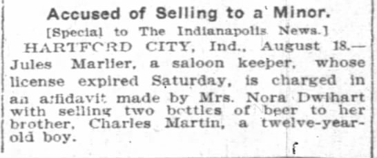 18 August 1908 The Indianapolis News (Indianapolis, IN) -