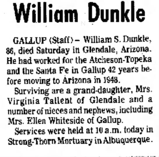 William Streator Dunkle -