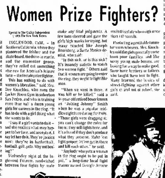 Trainingwomenfighters.TheGallupIndependent.4May1976 -