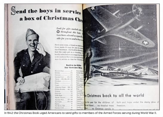 Sears Wish Book in 1942 urged Americans to send gifts to soldiers -