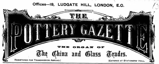The Pottery Gazette -