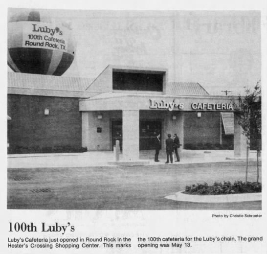 100th Luby's -