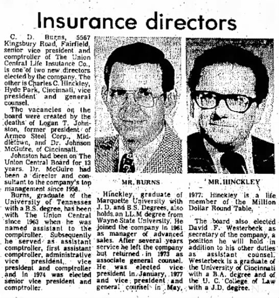 David F. Westerbeck 