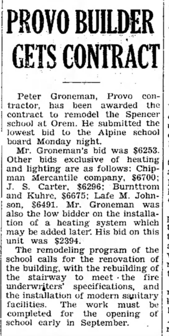 Peter Groneman contract 17 Jul 1935, Daily Herald p6 -