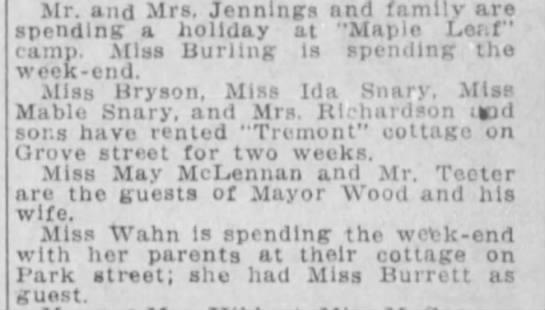 Winnipeg Tribune, 22 Aug 1910, Page 7, Winnipeg Beach -