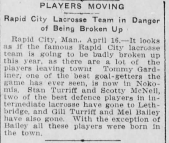 Rapid City lacrosse team in danger of breaking up -