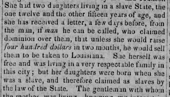 Daughters to be sold as slaves unless mother raises $400 -