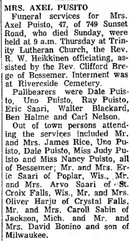 the daily globe (ironwood, michigan 22 march 1968 -