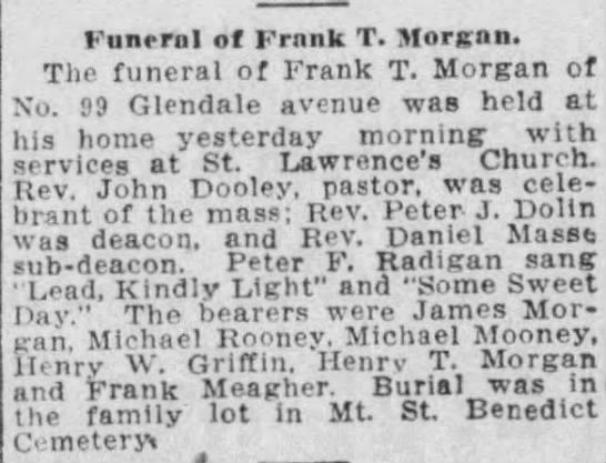 Frank T. Morgan Obit_Hartford Courant 29 Feb 1920 -