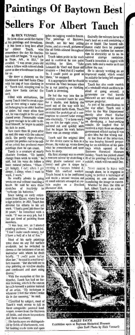 Albert Tauch_Baytown Sun_10-26-1977 -