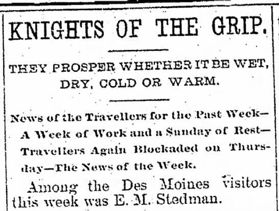 The Davenport Daily Leader 26 June 1892