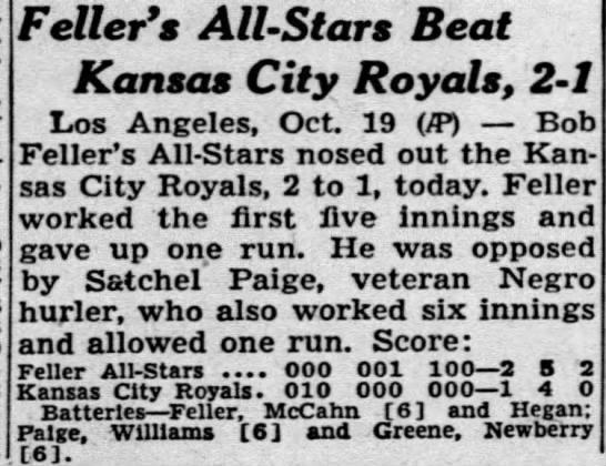 Kansas City Royals 1947 -