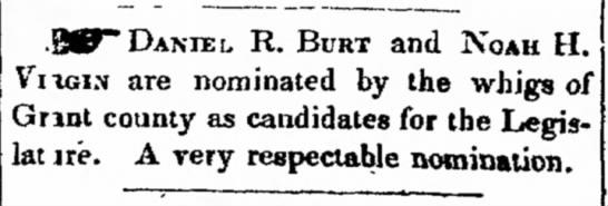 Daniel Raymond Burt (1804-1884) -