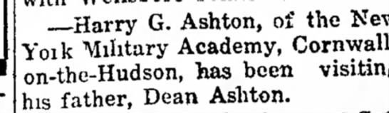 Harry G. Ashton -