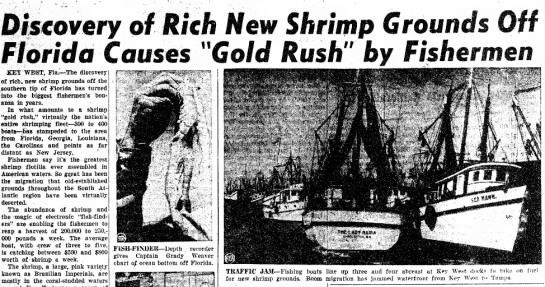 pink gold rush-california newspaper -