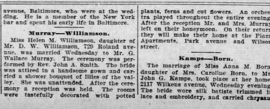 1009-10-22 deming/Williamson marriage -
