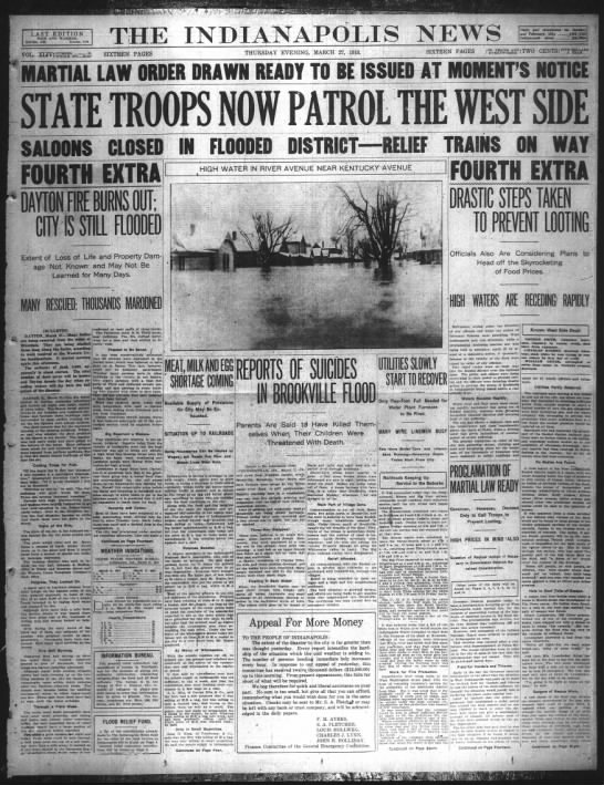 Indianapolis Flood of 1913