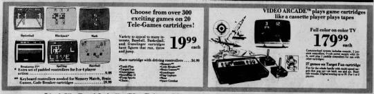 Atari 2600: Flag Capture and more - Sears (Oct 15, 78) -