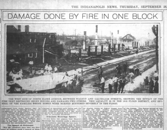 The Indianapolis News 28 Sep 1915 pg 20 Wm Rusie fireman