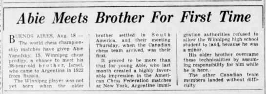 Clipping from The Winnipeg Tribune - Newspapers com