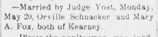 Mary A. Fox