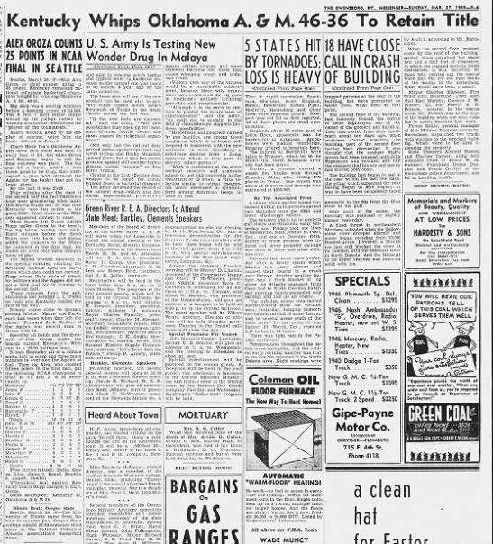 1949 NCAA men's basketball championships -