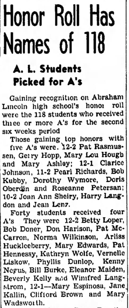 Honor Roll Has Names of 118 - Council Bluffs Nonpareil - 6 May 1945, page 17 - convoys of a Honor Roll Has Names of 118 A. L...