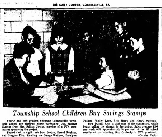 george wettgen fourth and fifth graders page 21 the daily courier october 27 1966 -