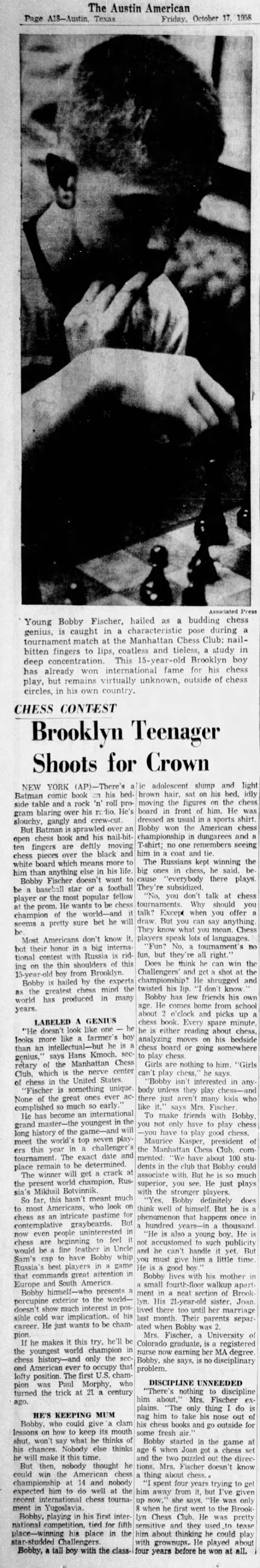 Brooklyn Teenager Shoots for Crown -