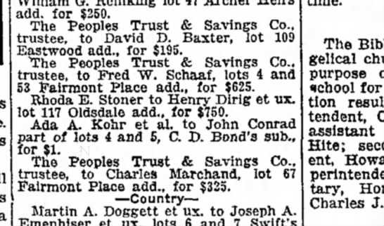 John Conrad 12 Dec 1918