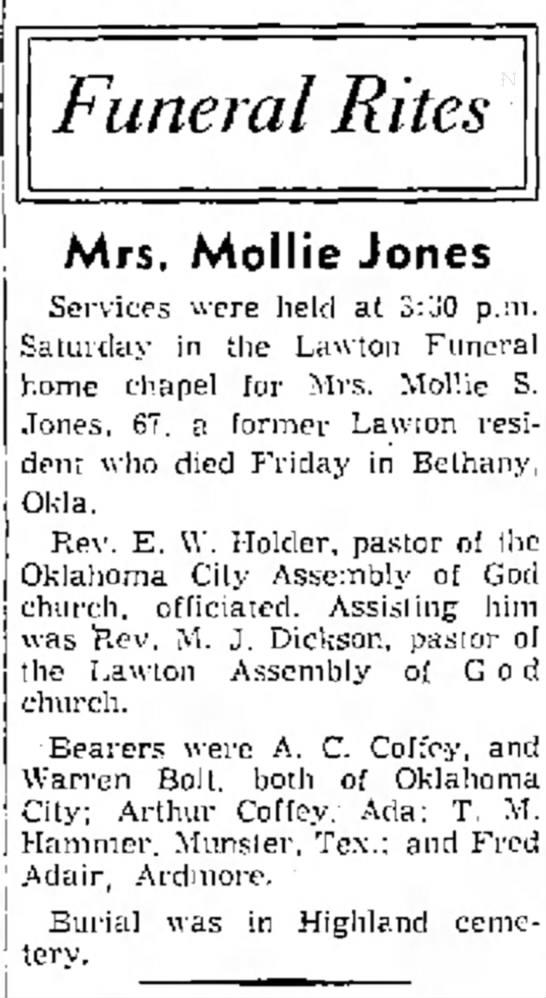 Mollie Jones -