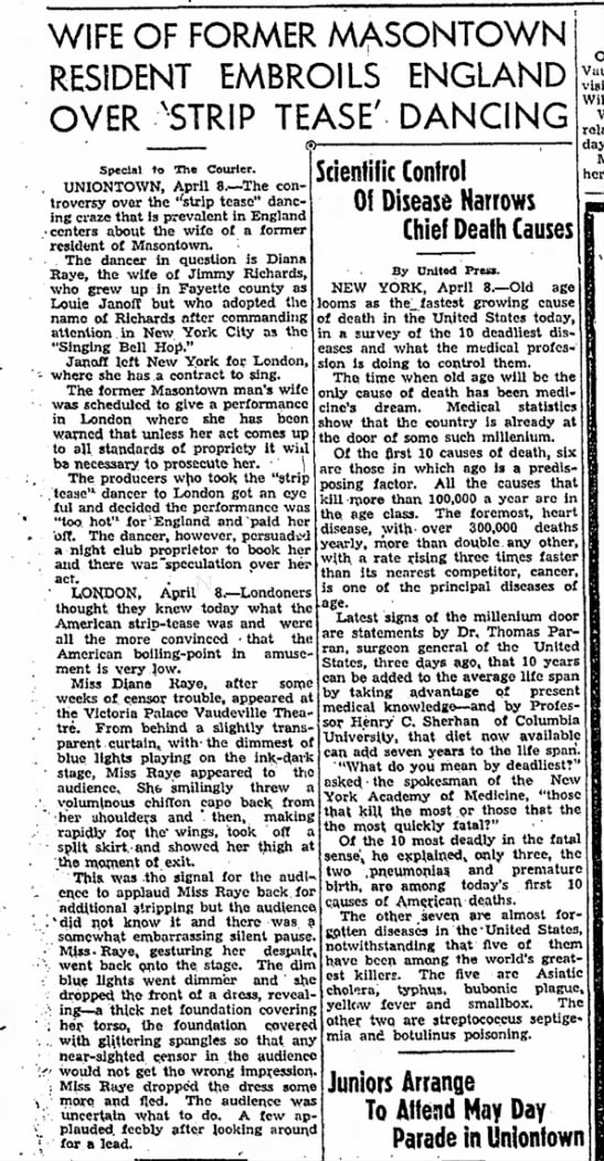 The Daily Courier, Connellsville PA April 8, 1937 -