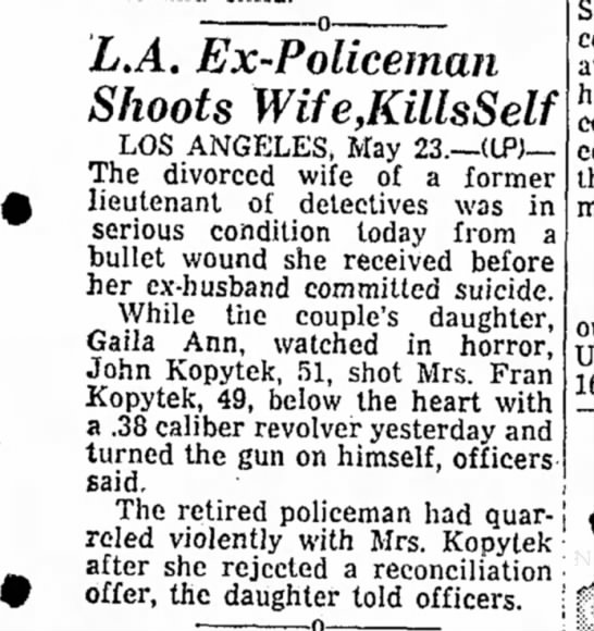 John Frank Suicide The Times San mateo ca 23 May 1949 -