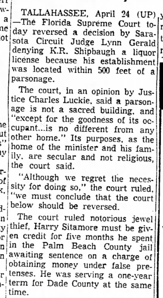 1957-04-25 FL Supreme Court Grants Credit [Panama (FL) City News-Herald] -