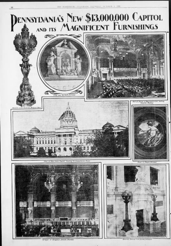 History of the Capitol p3 1906 -