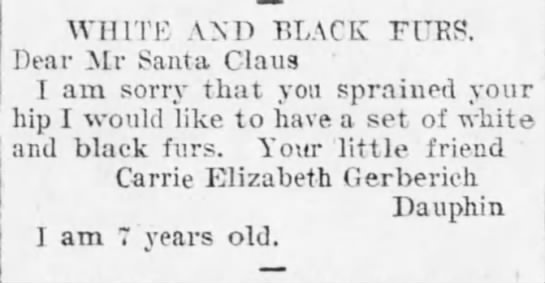 Harrisburg Telegraph (Harrisburg, PA), 23 December 1904, p. 12 -