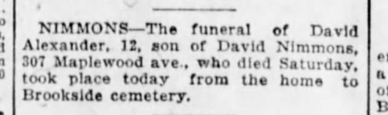 David Alexander obit 18 September 1923 -