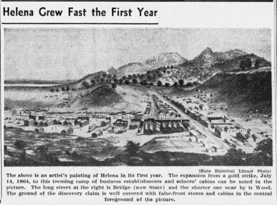 Artists rendition of Helena in its first year -