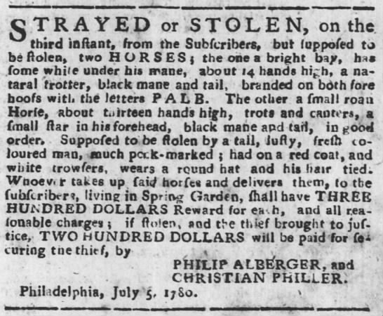 Ad by Philip Alburger
