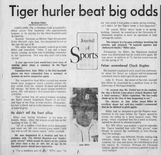Tiger hurler beat big odds -