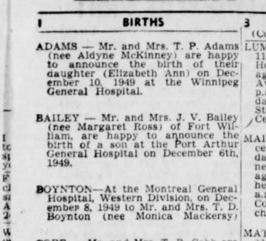 john boynton birth announcement