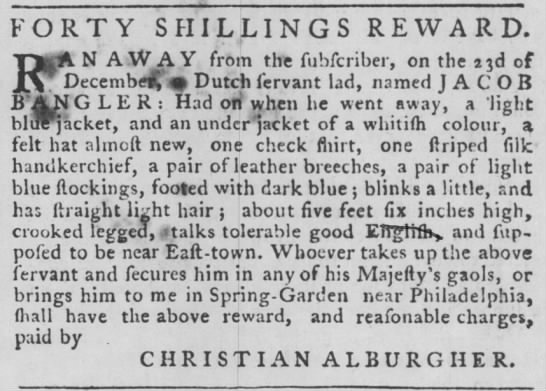 Ad by Christian Alburger