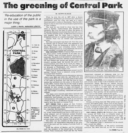 The Greening of Central Park -