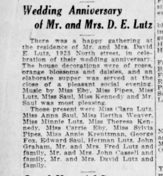Harrisburg Telegraph  29 May 1913 p 3 -